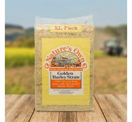 4 x XL Nature's Own Golden Barley Straw