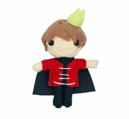 James & Steel Arthur The Prince String Doll Cat Toy