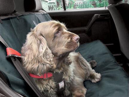 Danish Design Dog Car Seat Cover Charcoal Grey 140cm x115cm