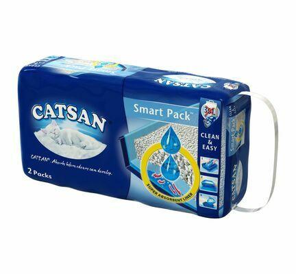 2 x 4L Catsan Hygiene Cat Litter Smart Pack