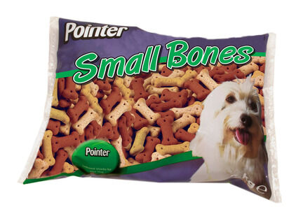 Pointer Assorted Small Bones - 2kg