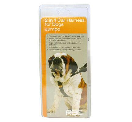 RAC Adjustable 2 In 1 Car Harness Dog Seat Belt