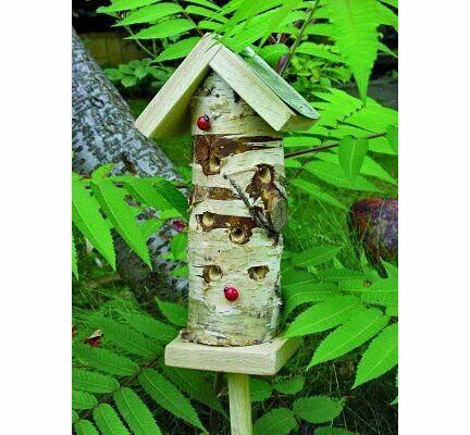 Wildlife World Ladybird Tower Habitat 28.5x14x10cm