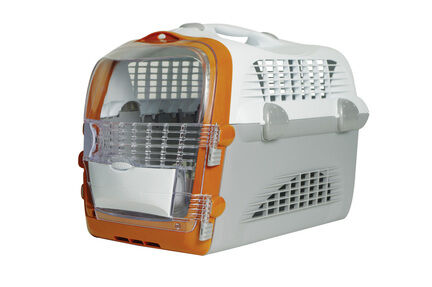 Catit Cat Cabrio White/grey/orange 51x33x35cm