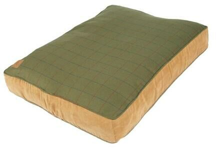 Danish Design Green Tweed Box Duvet Dog Bed