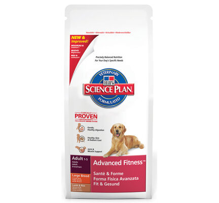 Hill's Science Plan Canine Advanced Fitness Adult Large Breed Lamb & Rice