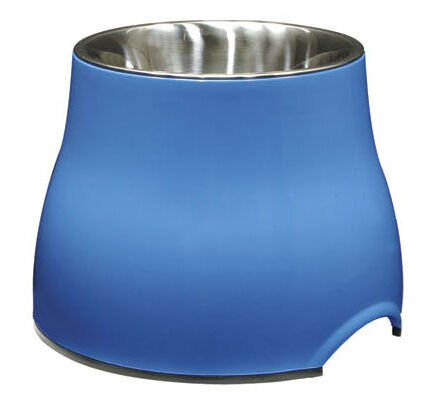 Dogit Elevated Large Blue Dog Dish 900ml