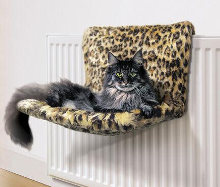 Danish Design Kumfy Kradle Leopard Cat Radiator Bed
