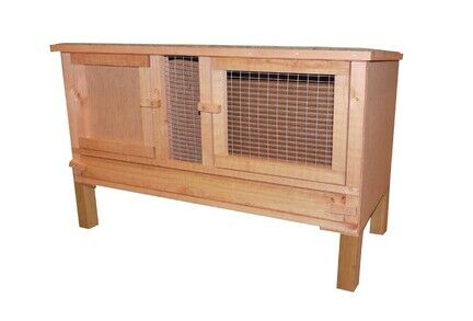 Goodspeed Plywood Hutch Including Legs & Easy Clean Lift Out Panel