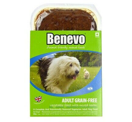 10 x 395g Benevo Grain-free Vegetarian Feast With Mixed Herbs