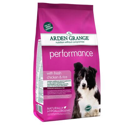 Arden Grange Performance Fresh Chicken & Rice Adult Dog Food