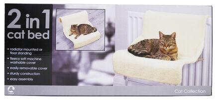 Rosewood Luxury 2-In-1 Radiator Cat Bed