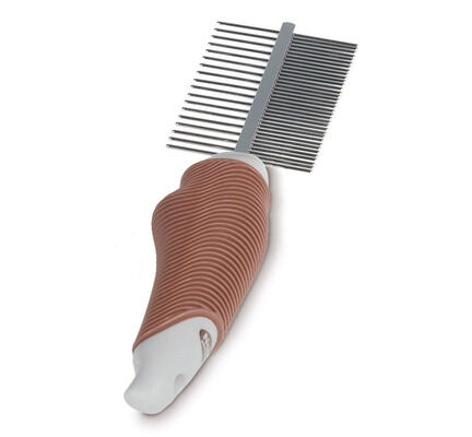 Nobby Starline Professional Soft Grip Double Comb Comb Long Coats Dogs/Cats