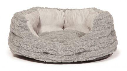 Danish Design Soft Pewter Deluxe Slumber Dog Bed