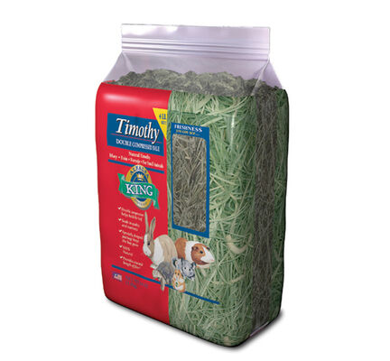 Alfalfa King Double Compressed Timothy Hay Small Animal Food