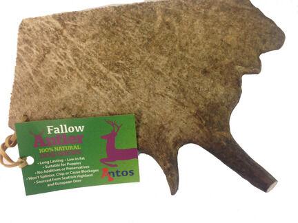 Antos Fallow Antler Natural Dog Chew