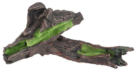 Fluval Decor Black Driftwood With Moss