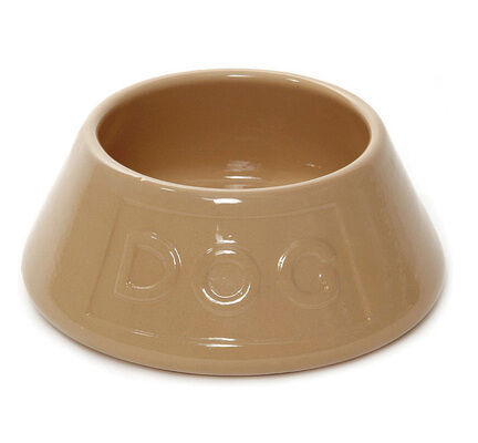 Mason Cash Non-Tip Spaniel Lettered Dog Water Bowl