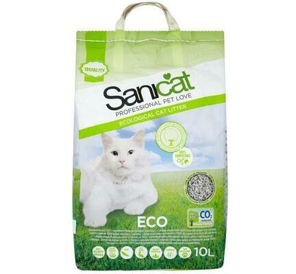 Sanicat Eco Recycled Paper Cat Litter - 10L