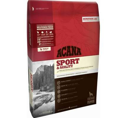 Acana Heritage Sport & Agility Dry Dog Food 11.4kg