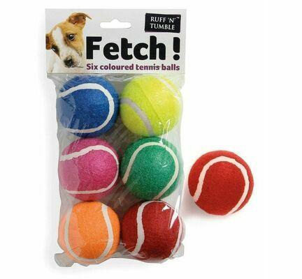 Sharples 'N' Grant 6 Pack Tennis Balls