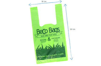 Beco Bags Poop Bags With Handles (120 Pack)