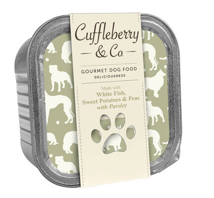 10 x Cuffleberry & Co. White Fish Potatoes & Peas With Parsley 150g