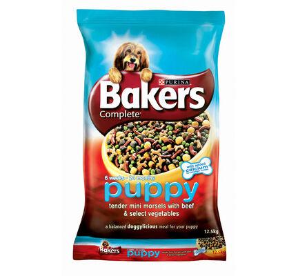Bakers Complete Puppy / Junior Beef