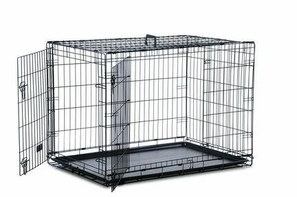 Sharples 'N' Grant Two Door Dog Crate (91cm x 58cm x 64cm)