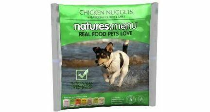 Natures Menu Nuggets Chkn Veg Rice W/apple 1kg