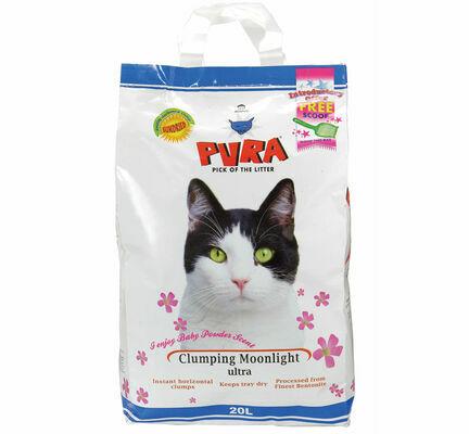 Pura Clumping Moonlight Ultra Cat Litter - 20L