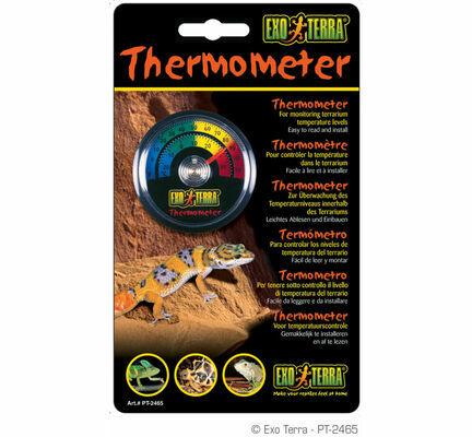 Exo Terra Dial Thermometer Terrarium Temperature Monitor