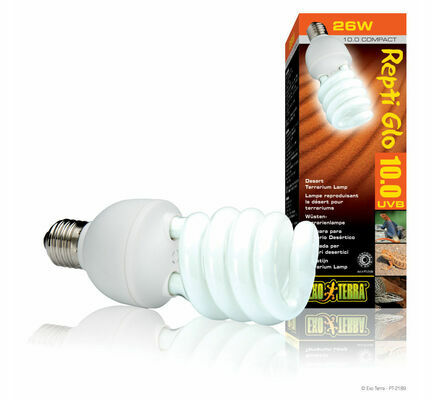 Exo Terra Repti Glo 10.0 Desert Compact Lamp 26w