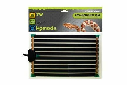 Komodo Advanced Heat Mat - 7w (142mm X 274mm)