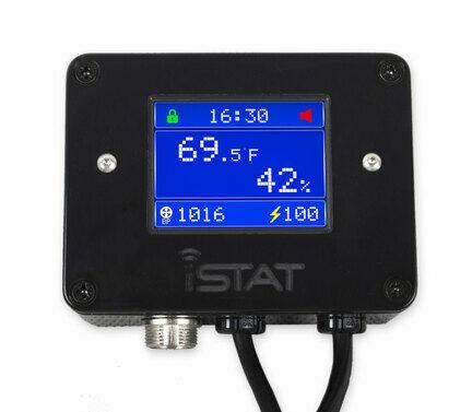 iSTAT Pulse Plus Digital Reptile Thermostat Black