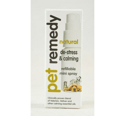 Pet Remedy Natural De-Stress & Calming Mini-Spray - 15ml