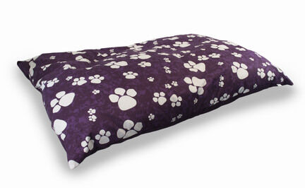 The Pet Express Purple Paws Luxury Dog Duvet