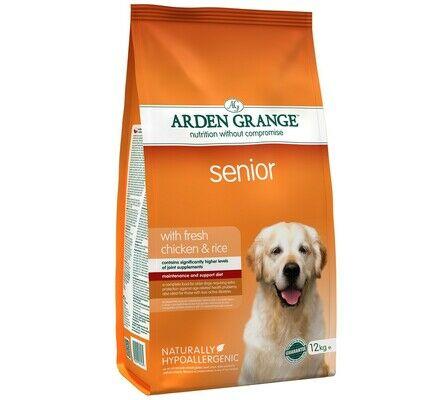 Arden Grange Senior Chicken & Rice Adult Dog Food
