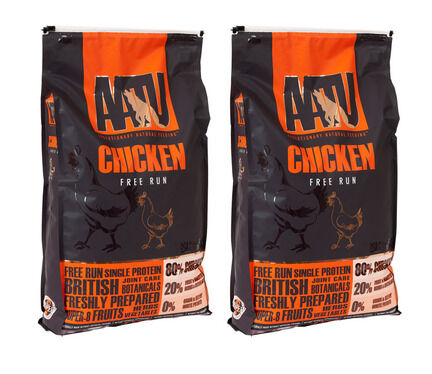 AATU Multi Buy 80/20 Chicken Dry Dog Food - 2 x 10kg