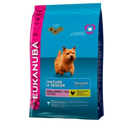 Eukanuba Small Breed Senior Dog Food - Chicken