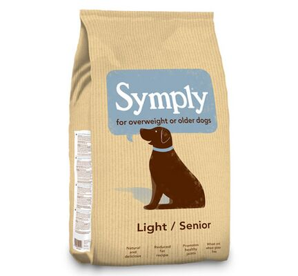 Symply Light/Senior Lamb & Rice Dry Dog Food