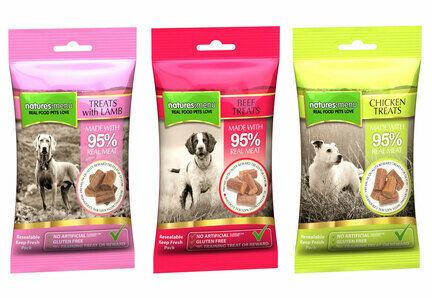 24 x 60g Natures Menu Gluten-Free Natural Dog Treats - Bulk Multibuys