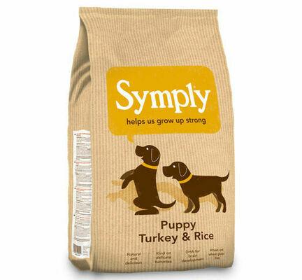 Symply Puppy Turkey & Rice Dry Dog Food