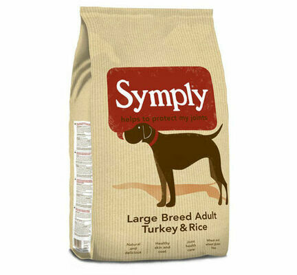 Symply Large Breed Adult Turkey & Rice Dry Dog Food