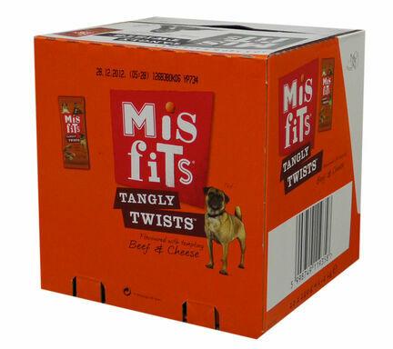 10 x Misfits Tangly Twists 140g